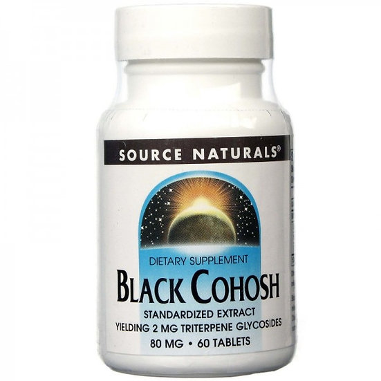 Black Cohosh / Schwarzer Cohosh - 80 mg - 60 Tabletten