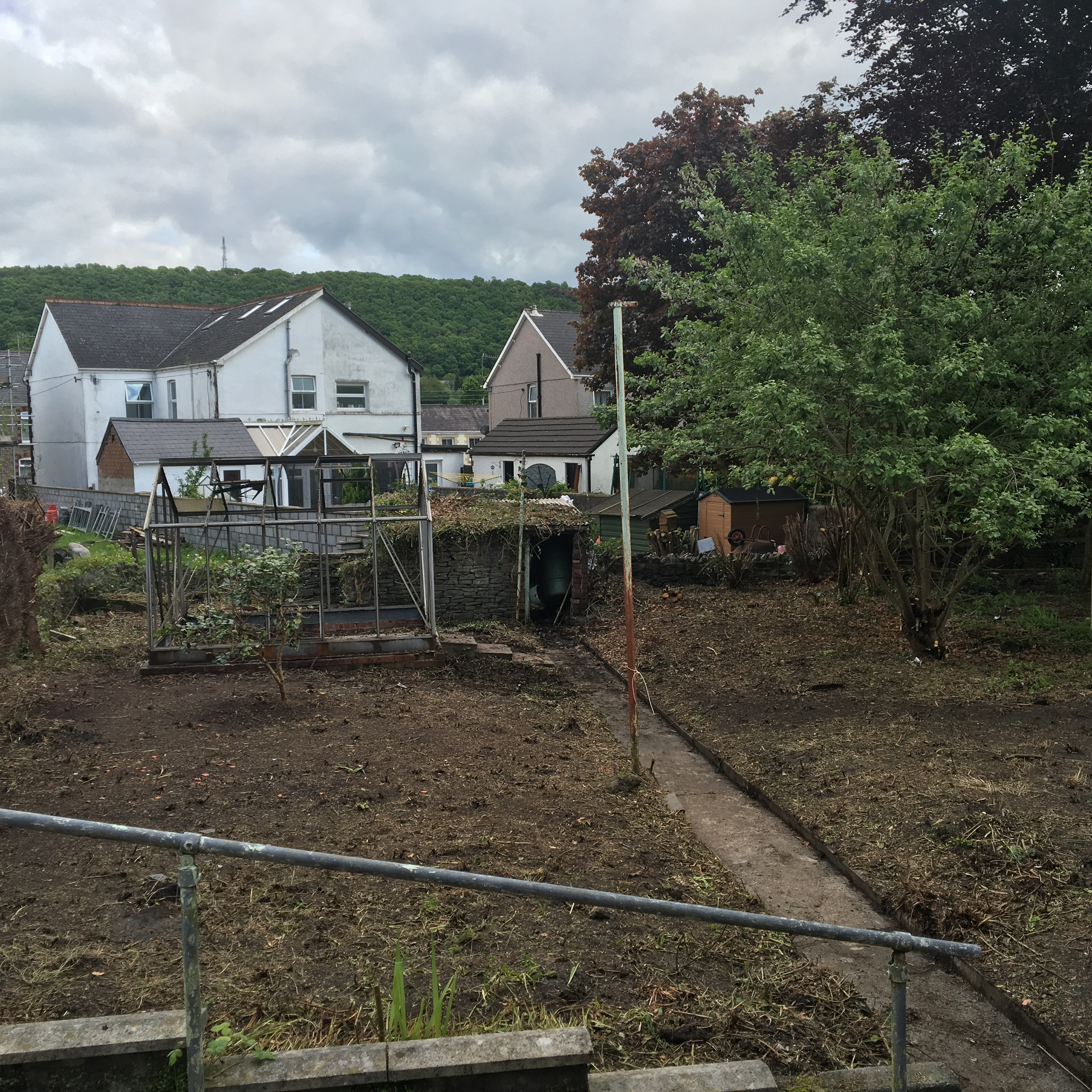 Garden Cleared For The Council