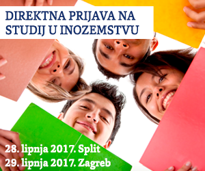 DIREKTNA PRIJAVA NA STUDIJ U INOZEMSTVU - za upise u rujnu 2017.