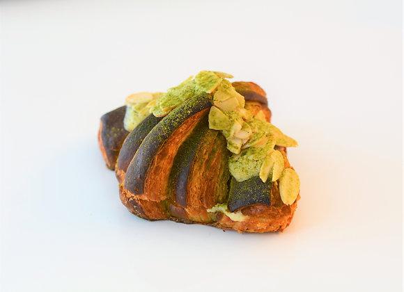 Matcha Almond Croissant