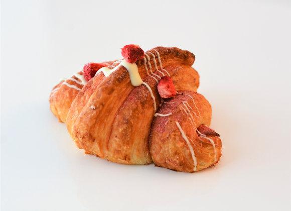 Strawberry Milk Croissant