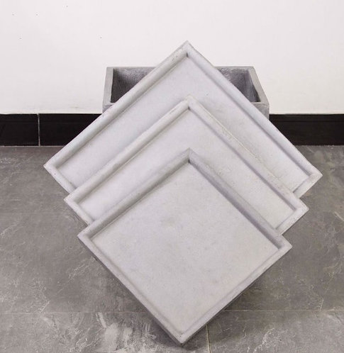 Cement Planter Pot Base Square