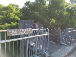 行山路線:                                               東涌(長沙引水道)至貝澳(羅屋村)