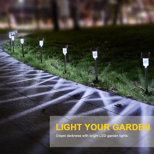 Mini solar waterproof LED light 6pcs