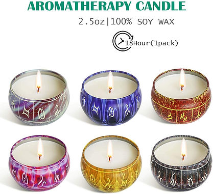 12 Zodiacal Constellations Candles