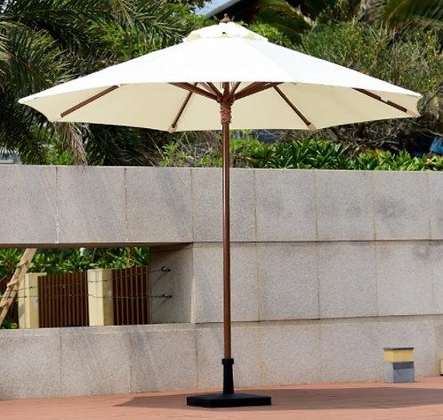 PVC Wooden Pole Umbrella