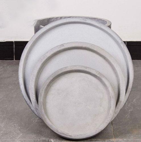 Cement Planter Pot Base Round