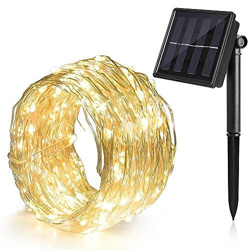 100 LED Solar Fairy Light