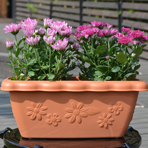 High-quality PRM pot – longflower style