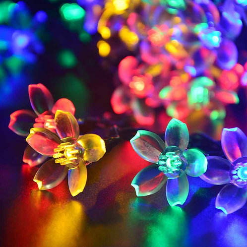 Solar Fairy Blossom Flower Light