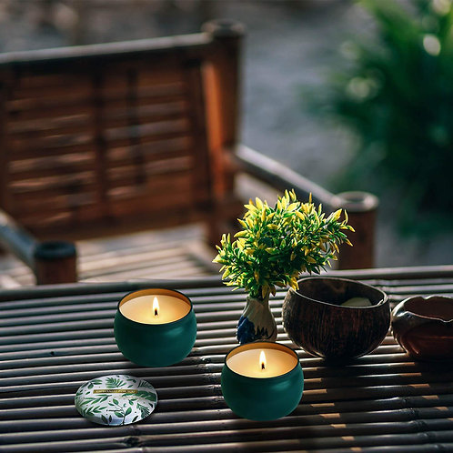 Lake Green Citronella Candles