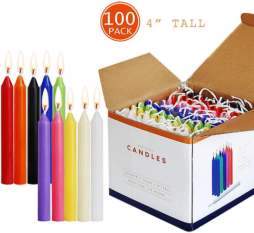 Colorful Mini Taper 4 Inches Candles