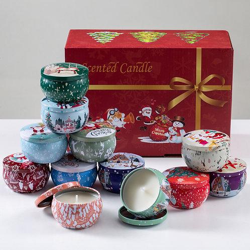 Christmas Candles Gift Set