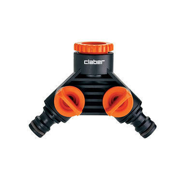 Claber  8599  Double tap connector