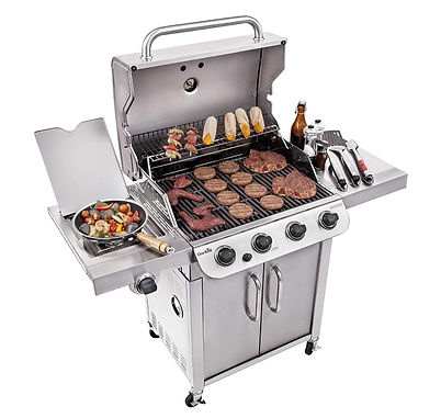 Char-Broil Performance Stainless Steel 4-Burner Cabinet Style Gas Grill