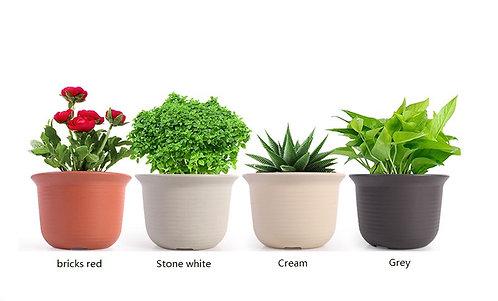 High-quality PRM flower pot – round style