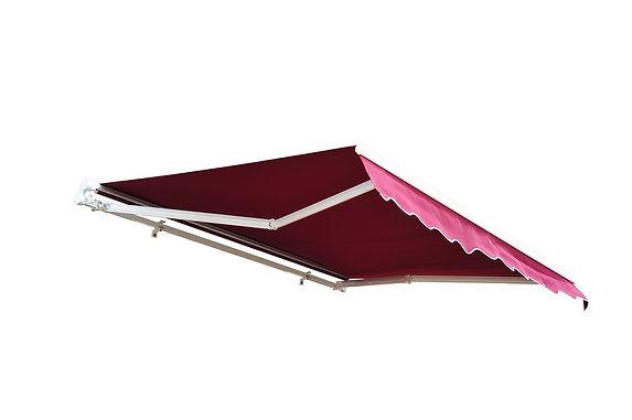 Manual Retractable Awning China Fabric