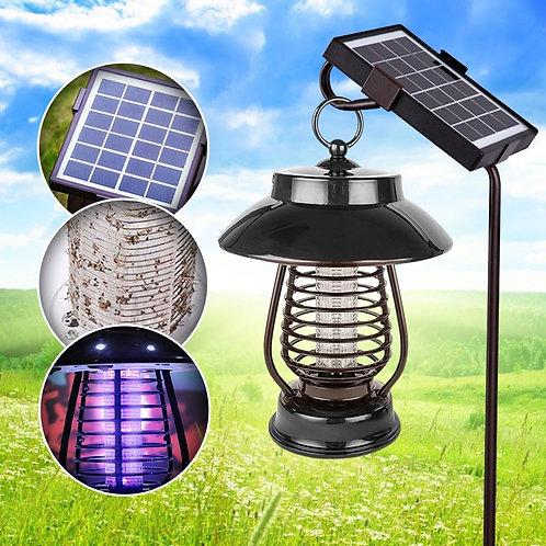 Solar Powered Outdoor Mosquito & Bug Zapper