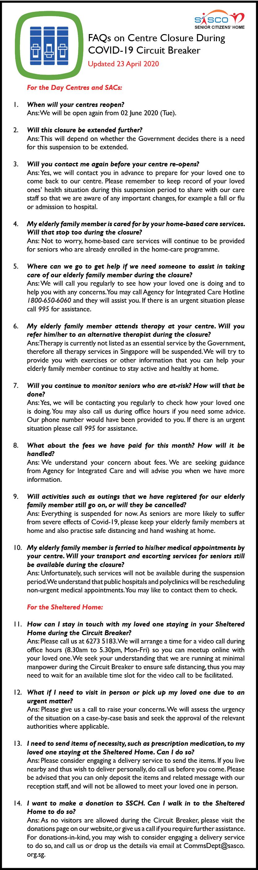 FAQs on Centre Closure v3 23 Apr 2020.pn