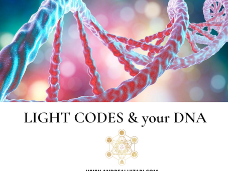 LIGHT CODES & YOUR DNA