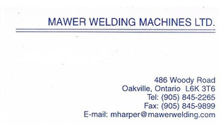 MAWER WELDING MACHINES