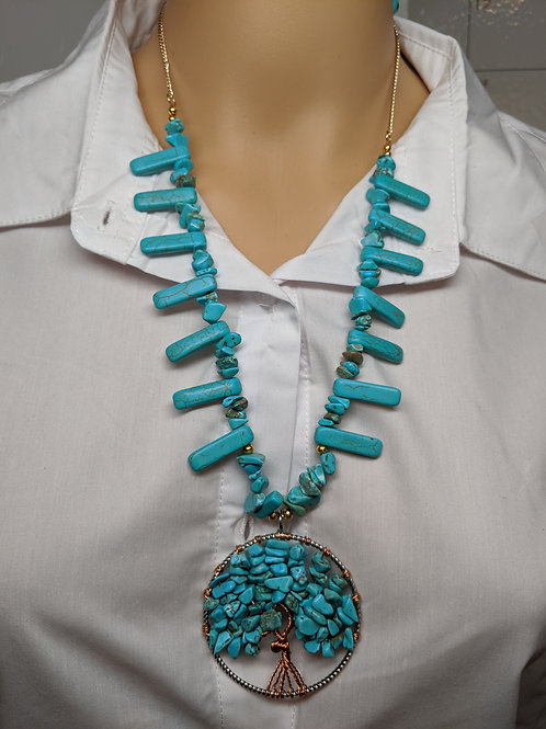 Turquoise Swag Tree of Life