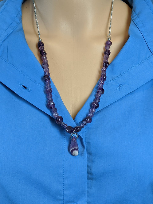 Amethyst Lace Pendant