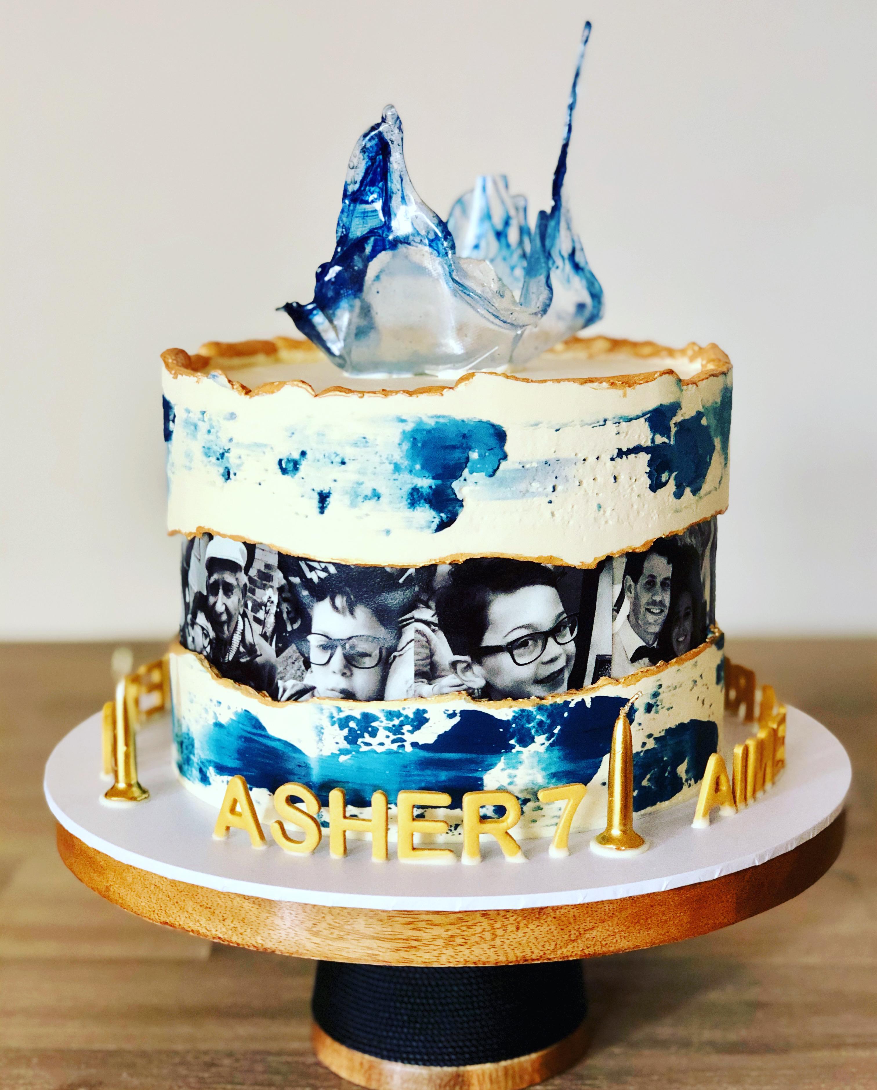 Combined Celebration Cake