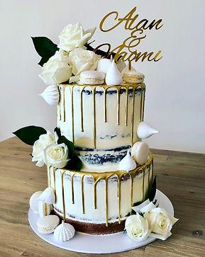 White Rose Wedding:Engagement Cake.jpeg