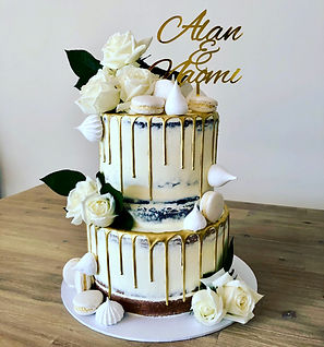 White Rose Wedding:Engagement Cake.jpeg