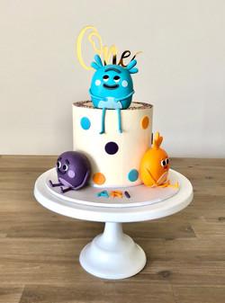 Bumble Nums Cake