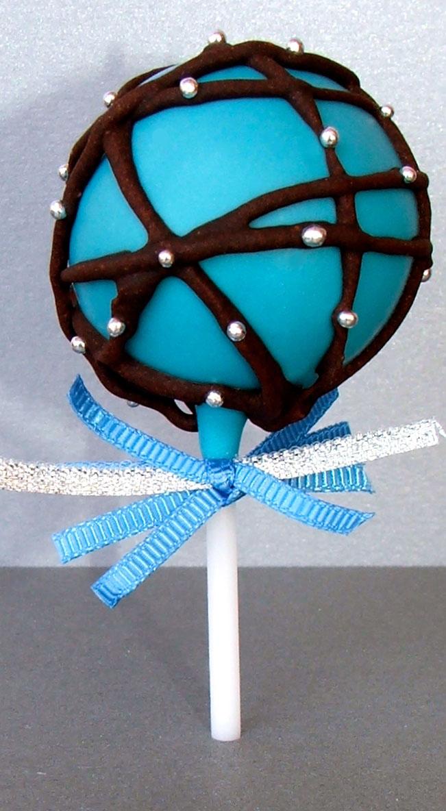 Blue Cake Pop