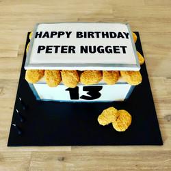 Chicken Nugget Cake