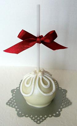 White Cake Pop