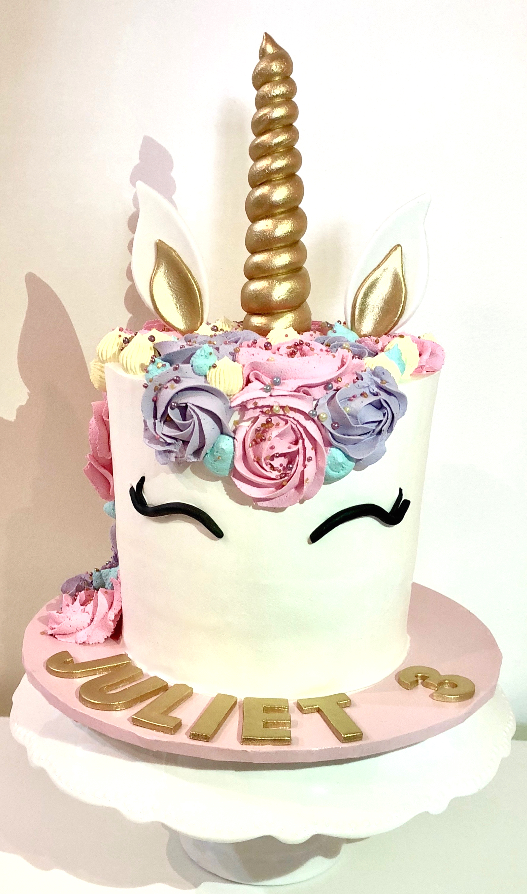 Unicorn Cake Tall