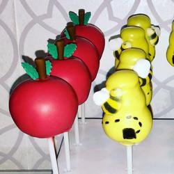 Apples & Honey Cake Pops