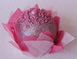Pink Glitter Cake Pop