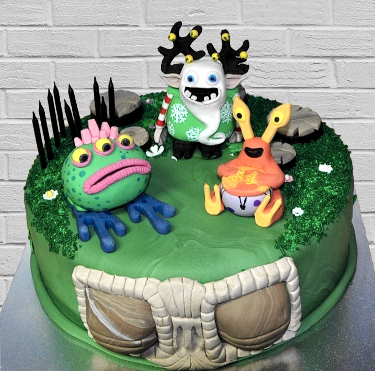 My Singing Monsters Cake