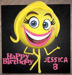 Emoji Movie Cake