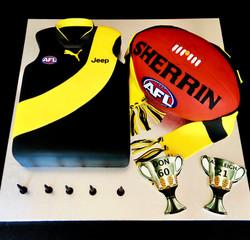 AFL Richmond Cake