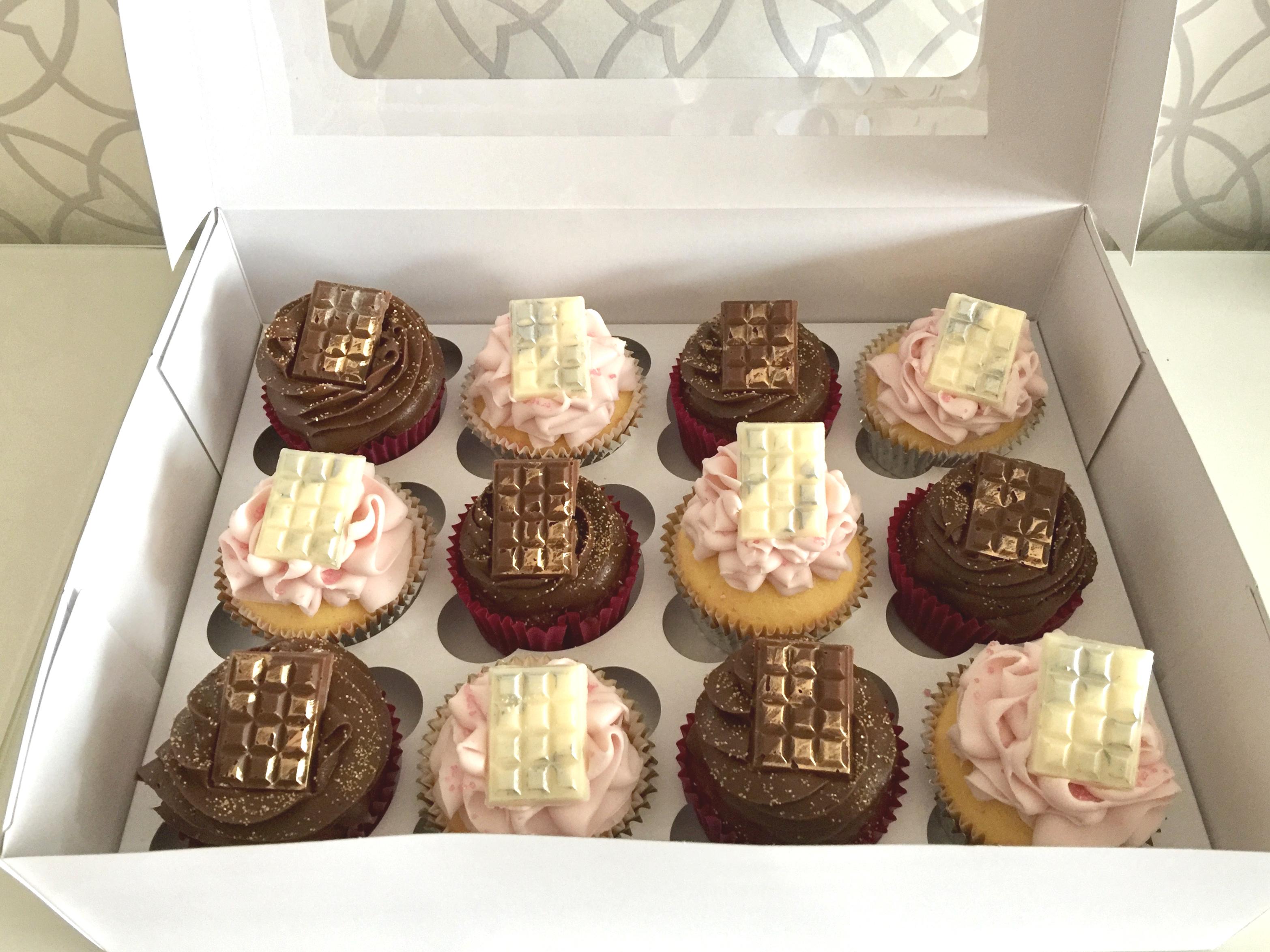 Choc Block Cupcakes