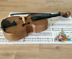 Violin 3D Cake