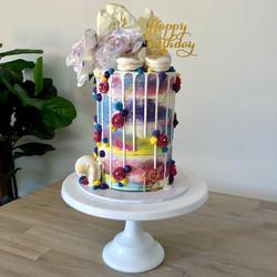 Colourful Tall Cake