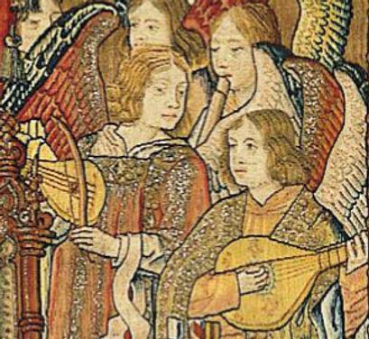 flutiste  la Sainte Famille avec Anges M