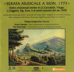 Serata musicale a Sion, 1777