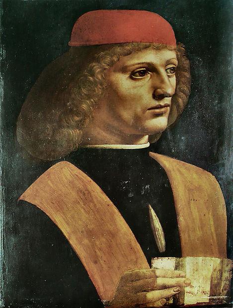 Gaffurio  Léonard_de_Vinci_-_Portrait_d'