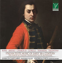 CD Italian Flute Music of early 18th cen