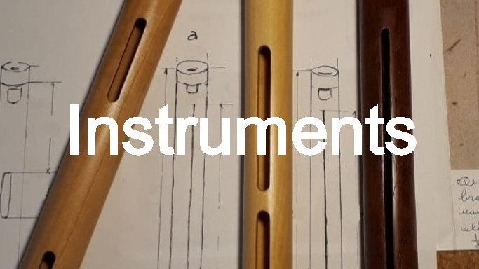 Sopranino flute in F -  440 Hz