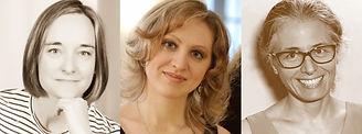 Caroline Emery Alina Nikitina Anne Casul