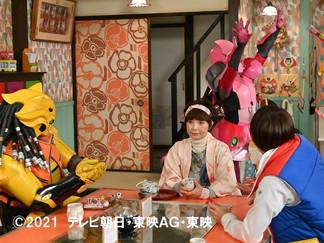 Zenkaiger Episode 6! New Stills: Yatsude is Fed Up of Majine